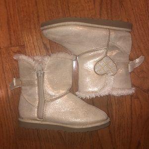 *3/$15 - Target girls gold boots